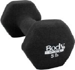 NEOPRENE DUMBBELL 5LB, LATEX-FREE