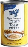 MAPLE CINNAMON FRENCH TOAST THICK-IT PUREE,15OZ